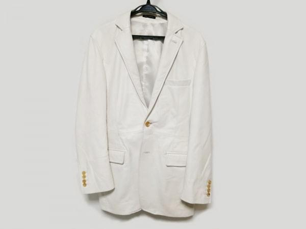 MEN'S TENORAS(メンズティノラス) ジャケット サイズLARGE L メンズ 白 レザー