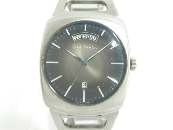 PaulSmith(ポールスミス) 腕時計 6150-H18831 メンズ ライトグレー×ダークグレー