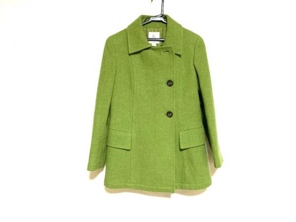 組曲 KUMIKYOKU(クミキョク) コート レディース美品  ライトグリーン 中綿入り/冬物