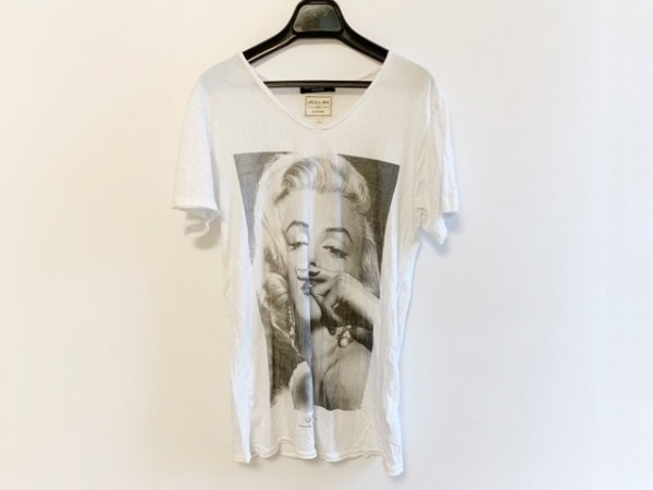 LOVELESS(ラブレス) 半袖Tシャツ サイズS レディース 白×黒 GUILD PRIME EXCLUSIVE