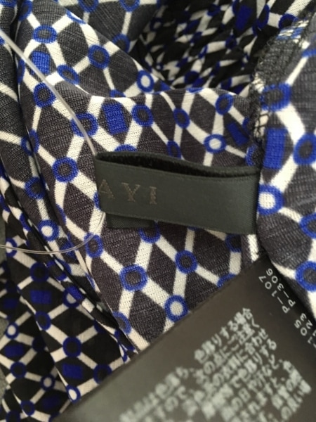 ANAYI(アナイ) ワンピース サイズ36 S レディース美品  黒×白×ブルー