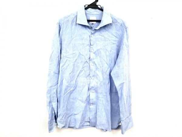 マッキントッシュフィロソフィー 長袖シャツ サイズ40 M メンズ美品  ブルー