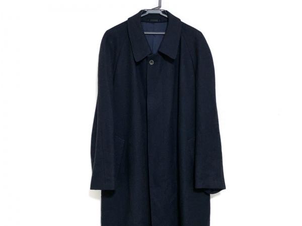 LANVIN(ランバン) コート サイズR52-47 メンズ 黒 CLASSIQUE/冬物