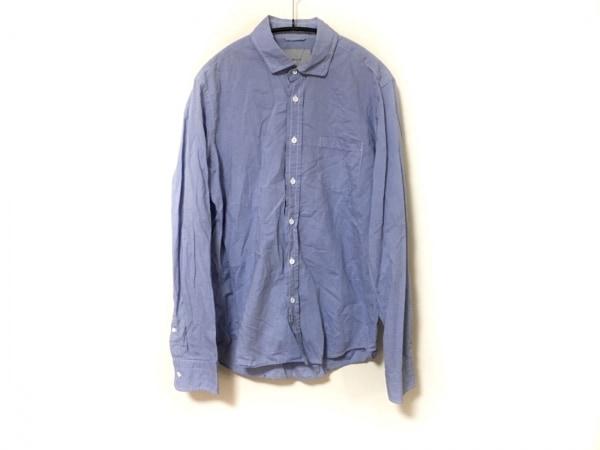 ANGLAIS(アングレー) 長袖シャツ メンズ美品  ライトブルー