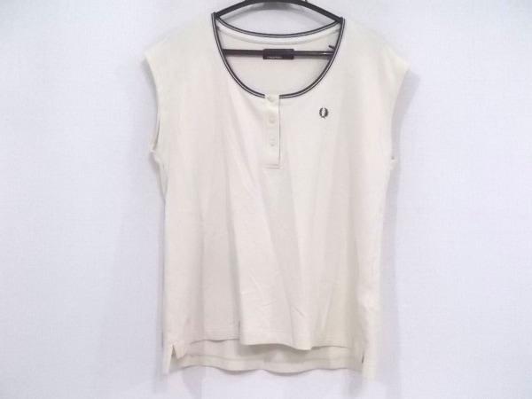 FRED PERRY(フレッドペリー) ノースリーブポロシャツ サイズ38 L レディース美品
