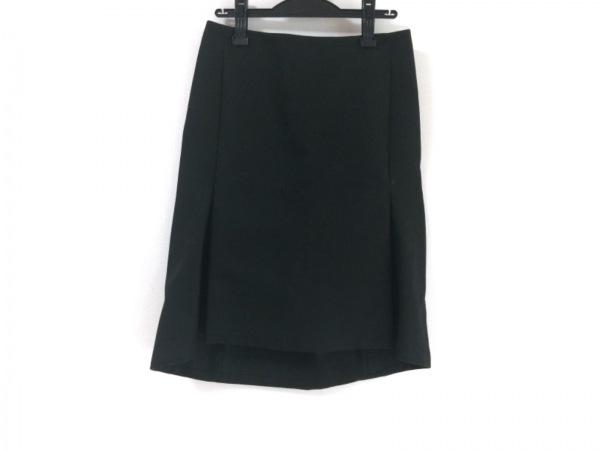 BALENCIAGA(バレンシアガ) スカート サイズ38 M レディース新品同様  黒