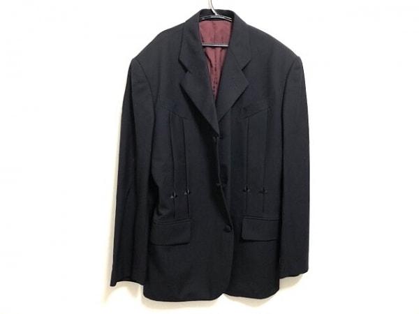 Jean Paul GAULTIER HOMME(ゴルチエオム) ジャケット サイズ48 XL レディース美品  黒