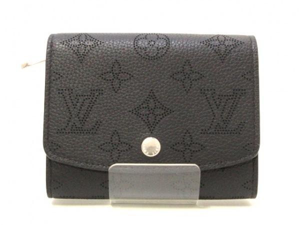 ルイヴィトン 2つ折り財布 マヒナ美品  ポルトフォイユ・イリス コンパクト M62540
