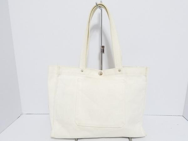 一澤帆布(イチザワハンプ) トートバッグ 白 キャンバス
