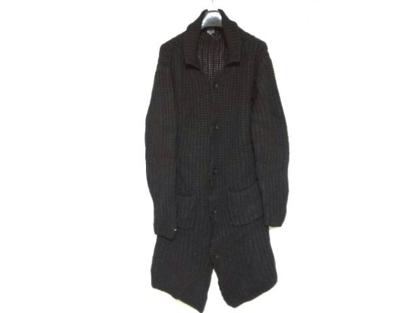 CalvinKlein(カルバンクライン) コート サイズXL メンズ 黒 ニット/冬物