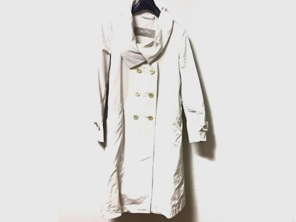 マックスマーラ コート サイズ36 S レディース美品  アイボリー RAINWEAR/春・秋物