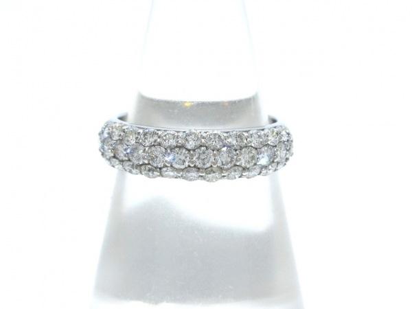 ポンテヴェキオ リング美品  K18WG×ダイヤモンド ダイヤ0.80Ctカラット
