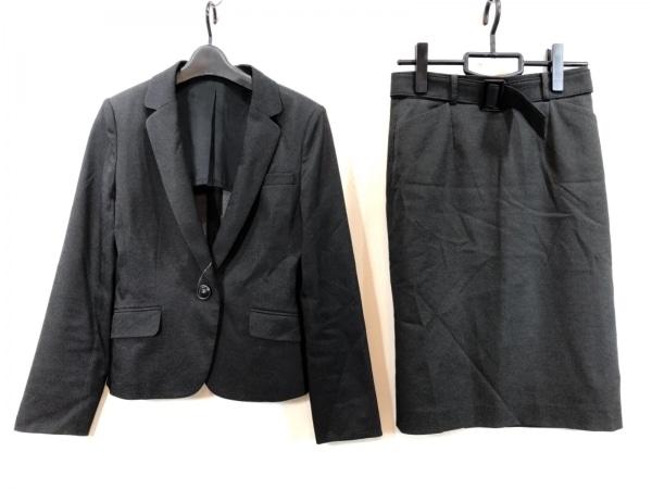 ru(アールユー) スカートスーツ サイズM レディース美品  ダークグレー