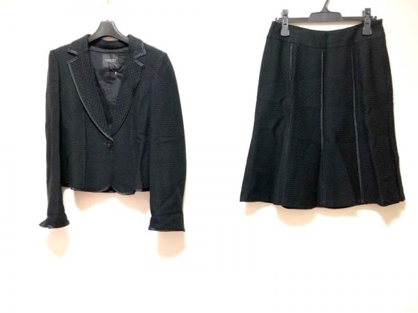 LANVIN COLLECTION(ランバンコレクション) スカートスーツ レディース 黒