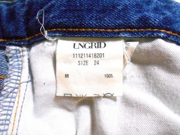 UNGRID(アングリッド) ジーンズ サイズ24 レディース ブルー