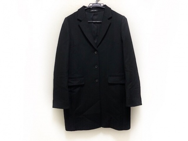 COMME CA DU MODE(コムサデモード) コート サイズ9 M レディース 黒 冬物