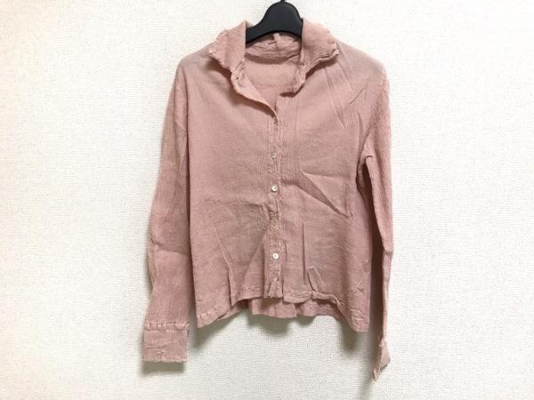ツモリチサト 長袖シャツブラウス サイズ2 M レディース美品  ピンク