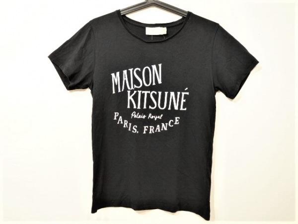 MAISON KITSUNE(メゾンキツネ) 半袖Tシャツ サイズM レディース美品  黒