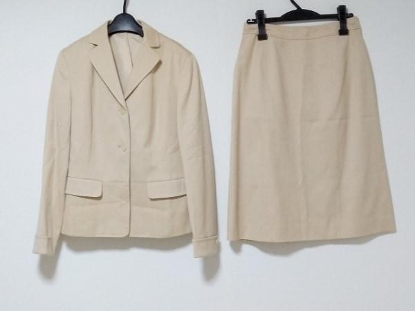 NEW YORKER(ニューヨーカー) スカートスーツ サイズ11AR M レディース ベージュ