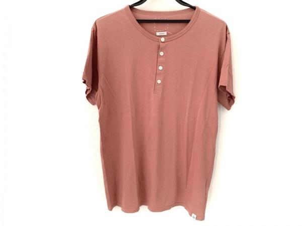 VISVIM(ビズビム) 半袖カットソー サイズ3 L メンズ美品  ピンクブラウン