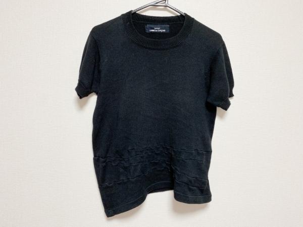 tricot COMMEdesGARCONS(トリココムデギャルソン) 半袖セーター レディース 黒