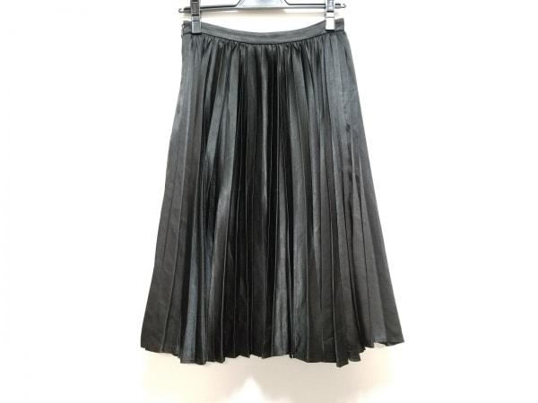 Pinky&Dianne(ピンキー&ダイアン) スカート サイズ38 M レディース美品  黒 プリーツ