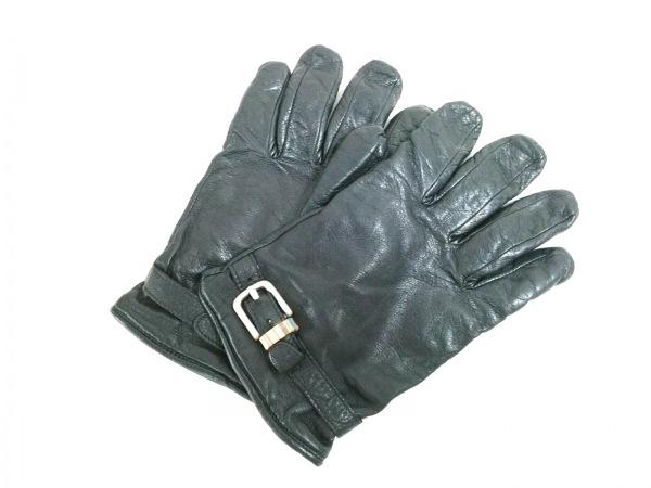 PaulSmith(ポールスミス) 手袋 8 1/2 メンズ美品  黒 レザー