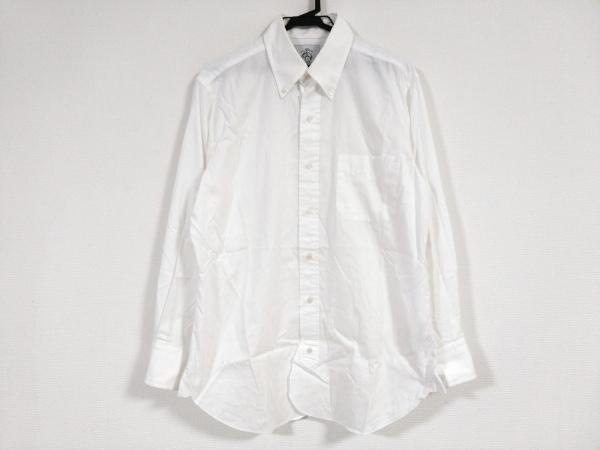 ブラックフリース バイ ブルックスブラザーズ 長袖シャツ サイズBB2 メンズ 白