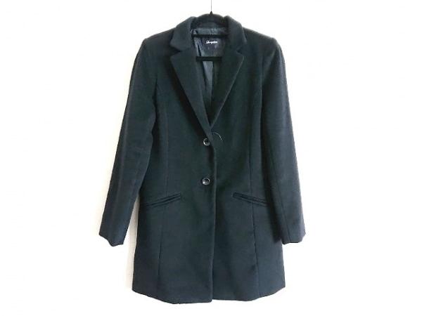 Loungedress(ラウンジドレス) コート サイズF レディース 黒