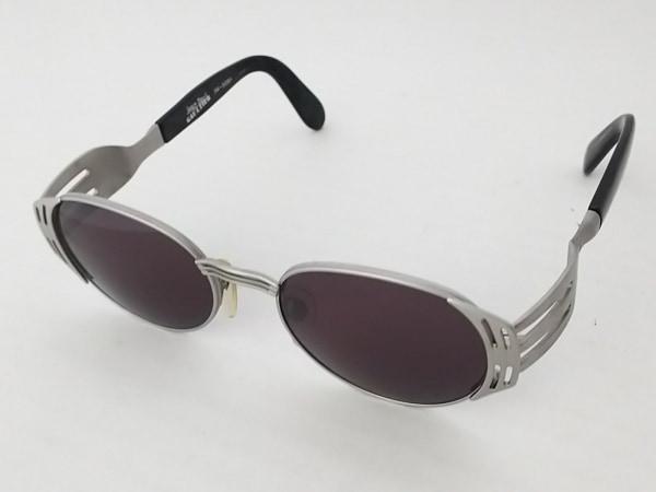 ゴルチエ サングラス 56-3281 シルバー×ダークグリーン×黒 プラスチック×金属素材