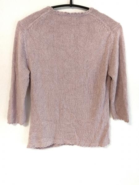 INGEBORG(インゲボルグ) 長袖セーター サイズM レディース ピンク×白