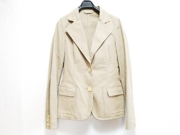 FENDI(フェンディ) ジャケット サイズ40 M レディース ベージュ