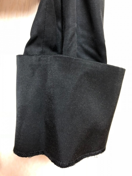 COMME CA ISM(コムサイズム) スカートスーツ サイズL レディース 黒