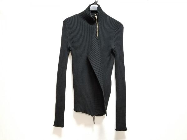 ゴルチエ 長袖セーター サイズM レディース美品  黒 ジップアップ/ニット