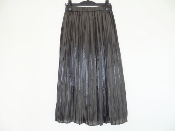 Loungedress(ラウンジドレス) スカート サイズF レディース カーキ プリーツ