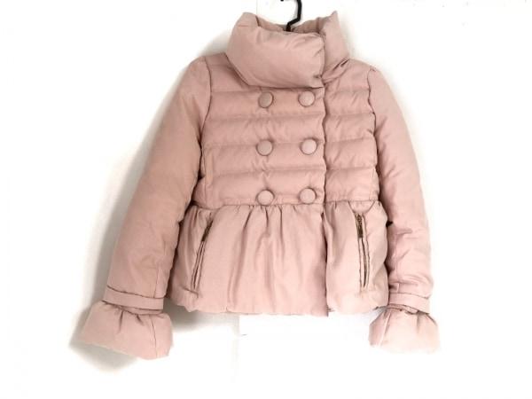 Noela(ノエラ) ダウンコート サイズS レディース ピンク ショート丈/冬物