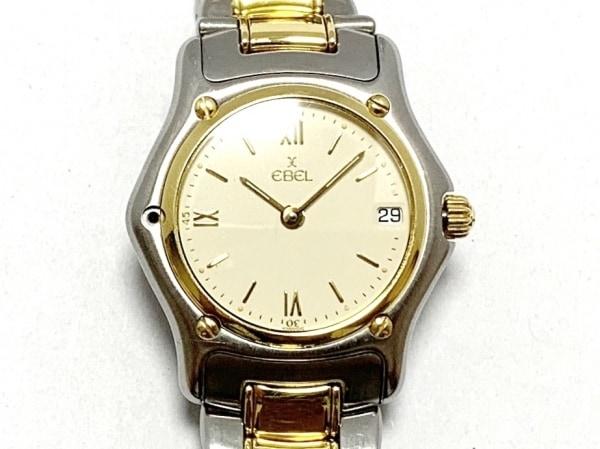 EBEL(エベル) 腕時計美品  188901 レディース 18Kゴールドベゼル アイボリー