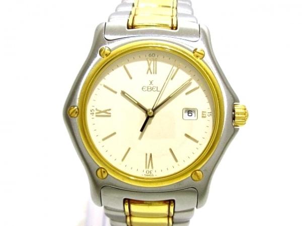 EBEL(エベル) 腕時計 187902 メンズ 18Kゴールドベゼル アイボリー