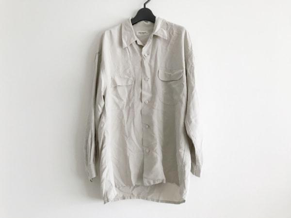 EQUIPMENT(エキプモン) 長袖シャツ サイズS メンズ ライトベージュ