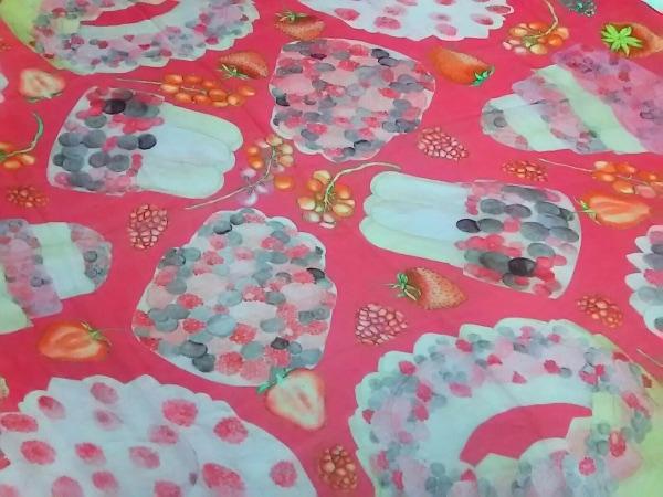SWASH(スウォッシュ) スカーフ美品  ピンク×マルチ