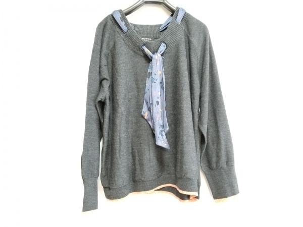 ソニアリキエル 長袖セーター サイズ46 XL レディース Collection/リボン