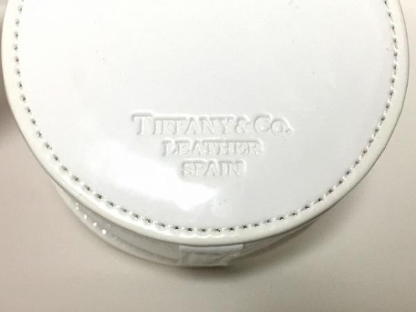 TIFFANY&Co.(ティファニー) 小物入れ 白 ジュエリーケース エナメル(レザー)