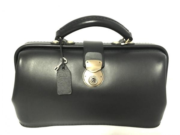 HERZ(ヘルツ) ハンドバッグ 黒 レザー
