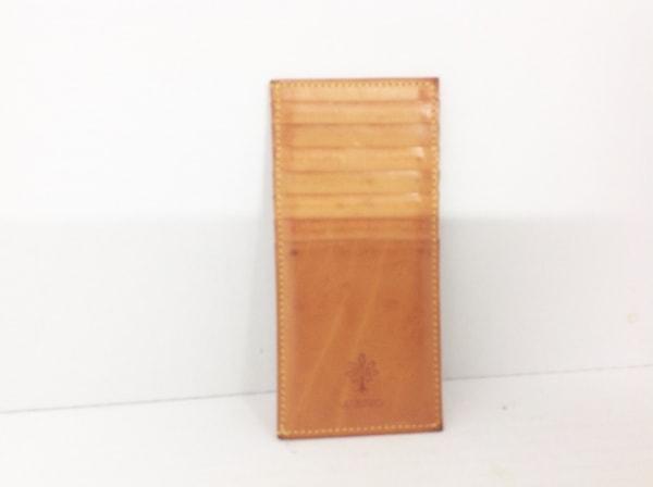 ALBERO(アルベロ) カードケース ブラウン レザー
