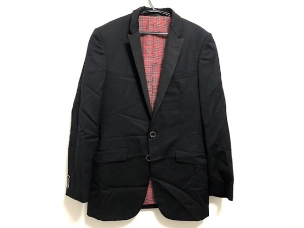 GB(ジービー) ジャケット メンズ美品  黒 肩パッド/SKINS