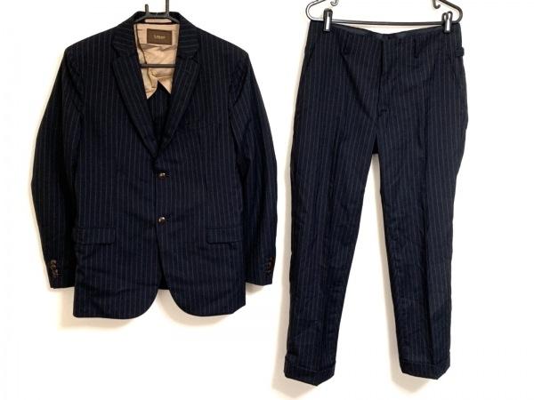 RING JACKET(リングジャケット) シングルスーツ サイズ44 L メンズ ネイビー