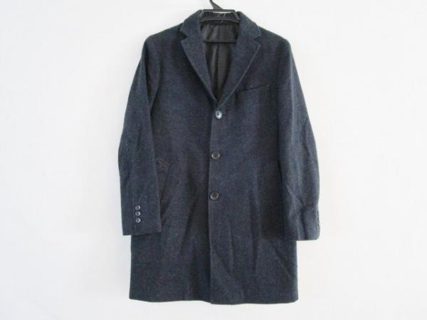 UNITED ARROWS(ユナイテッドアローズ) コート サイズS メンズ ブルー×黒 冬物