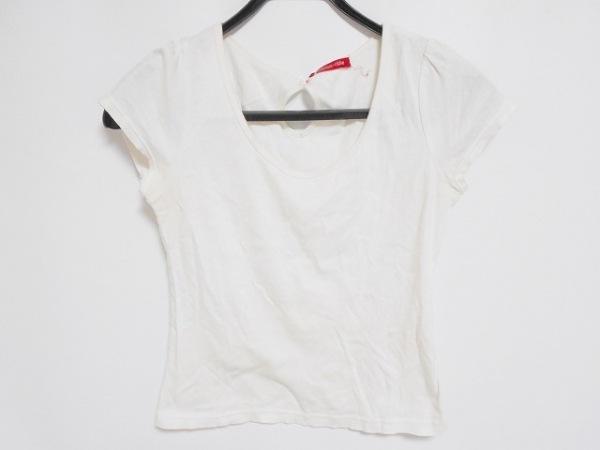 Apuweiser-riche(アプワイザーリッシェ) 半袖Tシャツ サイズ2 M レディース 白