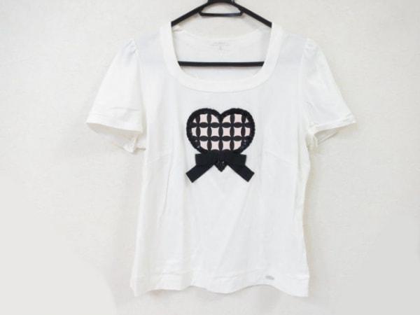 TO BE CHIC(トゥービーシック) 半袖Tシャツ サイズ4 XL レディース美品  白×ベージュ