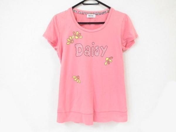ソニアリキエル 半袖Tシャツ サイズ44 L レディース美品  ピンク×マルチ